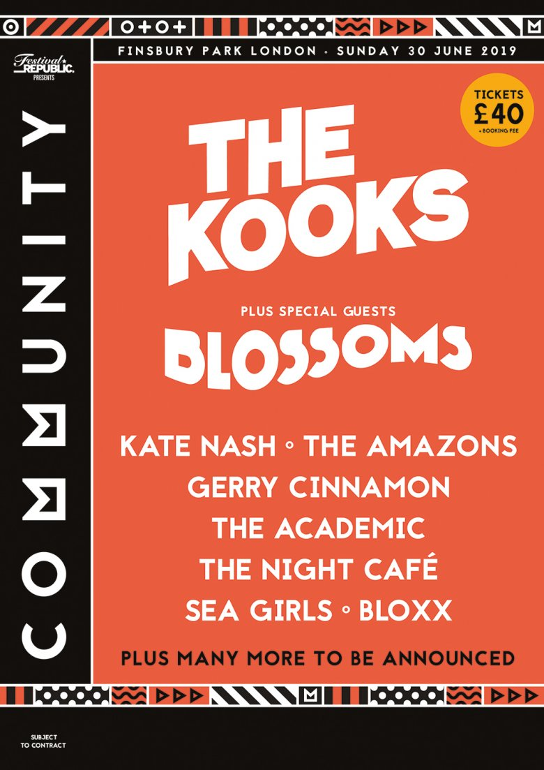 -Community_2019_line_up_A4_4852_APPROVED_WEB-780x1103-Community Festival Announces The Kooks, Blossoms + More