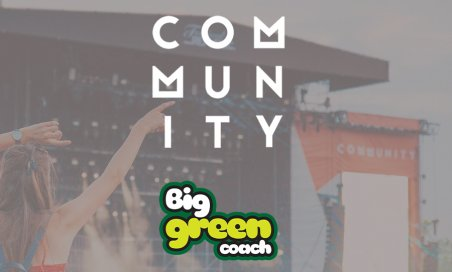 Book your travel to Community with Big Green Coach!